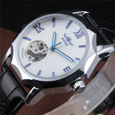 Sports Stainless Steel Classic Army Mens Automatic Mechanical Wrist Watch Square