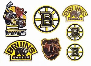 Hockey Boston Sport Logos Patches-Iron- sewing Fabrics.
