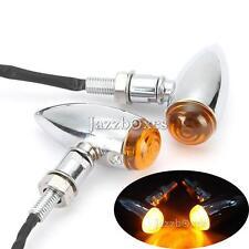 Bullet Turn Signal Indicator Light For Harley Davidson Sportster Dyna Softail