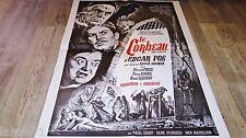 LE CORBEAU the raven ! edgar-allan poe v price b karloff  affiche cinema 1963