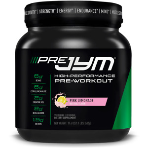 JYM Supplement Science Pre Jym 20 Servings (506g) | High-Performance Pre-Workout