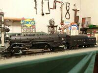 """Lionel Postwar"""" Nice """" 736 Steam Loco Berkshire & 2046W Tender ready to work ! !"""