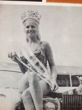 F6-1 Ephemera 1969 Picture Barbara Ponsford Chesterfield Belle Vue Beauty Queen