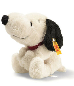 Steiff Snoopy - Peanuts collectable cuddly soft toy dog - 18cm - EAN 658181