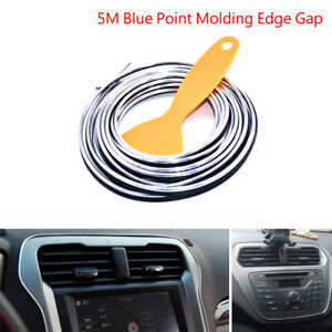 Universal Silver Edge Gap Line Car Interior Accessories Molding Garnish  5M UK
