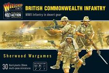 28mm Warlord Games British Commonwealth Infantry, WWII Bolt Action, BNIB.