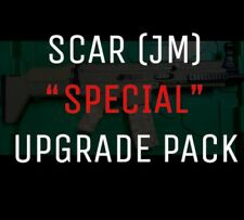 BEAST: JinMing SCAR V1 + M4 TERM + OTHER Bang For buck upgrade pack gel ball gun