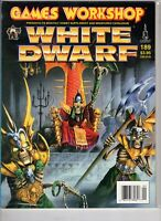 White Dwarf Magazine Games Workshop #189 Sept 1995