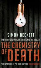 The Chemistry of Death: (David Hunter 1) by Beckett, Simon Paperback Book The