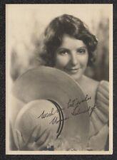 LQQK 5X7 vintage 1928 original, NORMA TALMADGE  silent actress #25