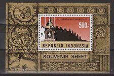 Indonesia Indonesie 1140 sheet B57 MNH Restauratie Borobudur tempel 1983
