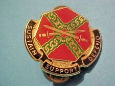 US Military Installation MGT COM DI DUI Pin Clutchback Crest Medal Insignia S222
