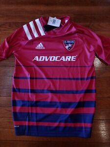 New adidas FC Dallas Soccer Jersey Youth Size Extra Large XL