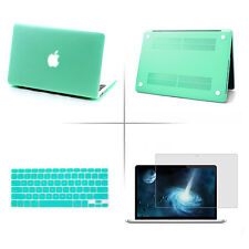 "Matte Hard Case/Keyboard Skin/Screen Protector for MacBook Air Pro 11""12""13""15"""