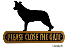 Border Collie Signs & Plaques