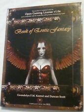 Book of Erotic Fantasy. Compliant with Open Gaming License v1.0a, Hardcover