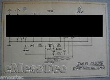 EMUD Cherie Schaltplan, Stand ca. 1951