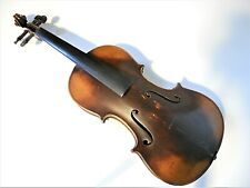 Vintage Antique Full Size Willhemj Violin For Repair #072520T