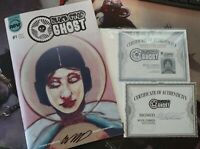 Black Star & Ghost Limited Store Variant 1 per store rare htf signed Coa!