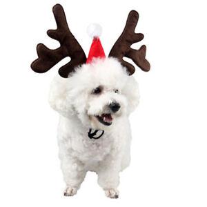 Christmas Headbands Reindeer Antler Headband Pets Photo Party Prop BL