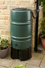 227 litre Water Butt Kit - Includes stand and diverter. Rainwater harvesting