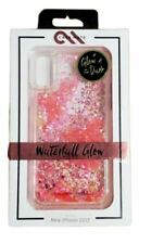 Case Mate Waterfall Glow in The Dark Liquid Pink Glitter Case For Apple iPhone X