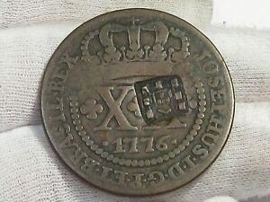 1886 20 REIS Brazil Counter Stamp.  #56