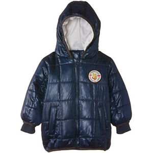 Disney Boys' Winnie The Pooh Padded Coat with Hood Blue Puffer Jacket 23 months