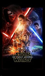 Wall mural wallpaper 6.5ft x 3.9ft Non-woven photo mural Star Wars Posters