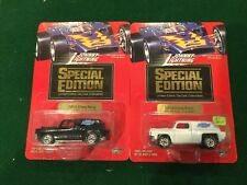 (2) 1994 Johnny Lightning 1/64 '95 Greater Seattle Toy Show '54 Chevy Panel Van
