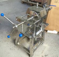 Used 220V Stainless 150 Model Steel Plate Frame Filter Press Slag Big Filter
