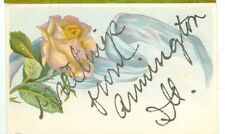 ARMINGTON,ILLINOIS-GREETINGS FROM-GLITTER APPLIED-PRE1920-EMBOSSED-(ILL-AMISC)
