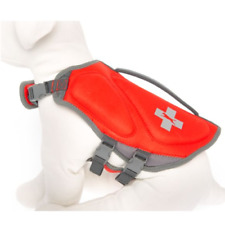 Top Paw orange red  floatation device life jacket preserver for dogs SZ XS or S