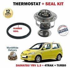 FOR DAIHATSU YRV 1.3 DVVT + TURBO 2001--> THERMOSTAT KIT WITH RUBBER SEAL GASKET