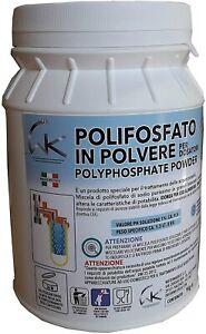 Polifosfati Caldaia in Polvere Anticalcare Universale, Confezione da 1 Kg WK