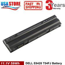 60Wh T54FJ E6420 Battery For Dell Latitude M5Y0X E5420 E6430 E6520 8858X NHXVW