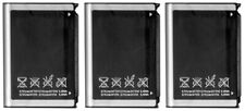 3x Battery For Samsung AB653850CA Code i220 Exec i225 Nexus S Moment Behold T939