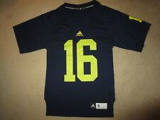 Michigan Wolverines #16 Football adidas Jersey SM S mens