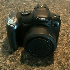 Canon PowerShot SX10 IS 10MP Digital Camera 20X Optical Zoom With Bag