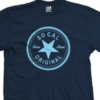 So Cal Original Inverse T-Shirt - Born and Bred in Made Tee - All Sizes & Colors