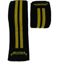 Viking Knee Wrap - Black/Yellow