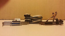 New Slot Header kit Two Serial DB9 DB25 One Parallel DB25 Floppy Cable IDE Cable