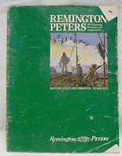 VINTAGE REMINGTON - PETERS 1972 SPORTING FIREARMS MAGAZINE
