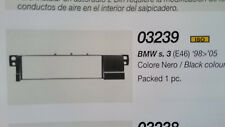 PHONOCAR 3/239 BMW s.3 (e46) dal 98 al 2005 mascherina autoradio iso nero