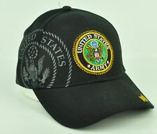 Stati Uniti Militare Corps Berretto Nero Tappo Curvo a Becco Regolabile  Militare 62097995208f