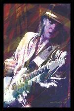 STEVIE RAY VAUGHN - GUITAR MASTER - DAVID LLOYD GLOVER ART POSTER - 24 x 36 791