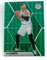 Enes Kanter Mosaic Green Prizm #139 Boston Celtics Portland Panini NBA