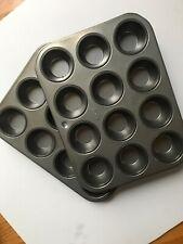 Ekco 12 Muffin Baking Pan -Rarely Used. 2 Pans