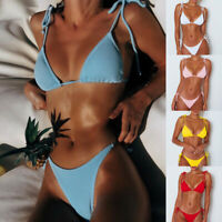 Women's Push Up Padded Bikini Set Brazilian Swimsuit Swimwear Beachwear Bathing