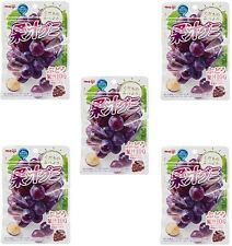 "JAPAN Meiji collagen juice gummy grape 1 bag ""51g ""x 5set  / Free Shipping!"